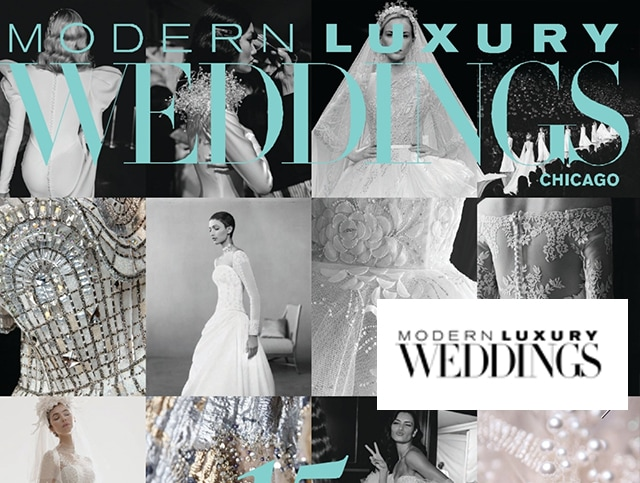 Modern Luxury Weddings Chicago Features Our Weddings