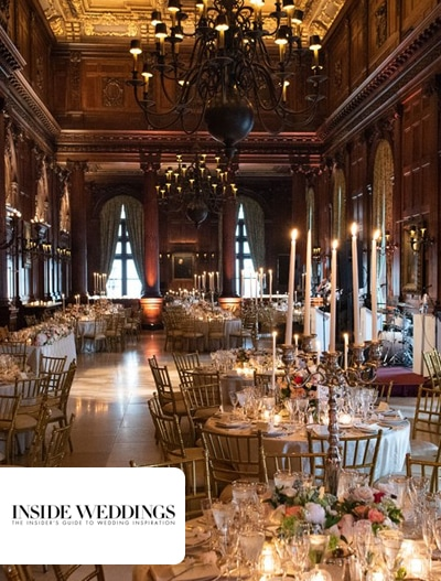 Inside Weddings: Traditional Ceremony + Reception Inspired by Old World Paintings in New York City