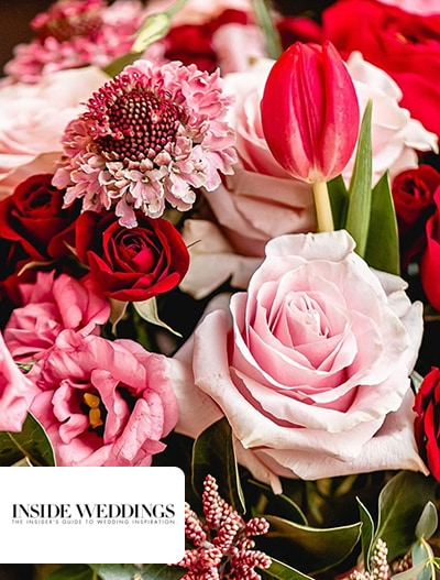 Inside Weddings: A Valentine's Day-Inspired Tablescape + Galentine's Day Party Ideas