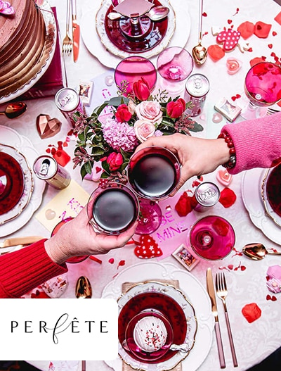Perfete: Intimate Valentine's Day Dinner Party By Michelle Durpetti Events