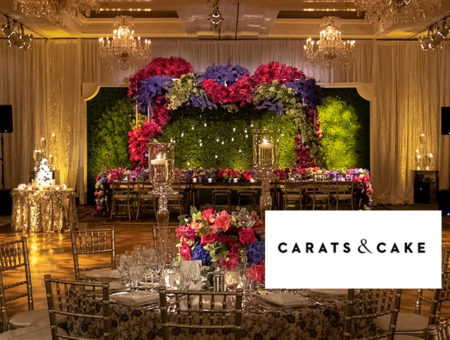 A Gorgeous MDE Wedding Is Featured on Carats & Cake